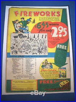 1941 ACTION COMICS #37 DC est 6.5 FN+ Cream Off WHITE Pages SUPERMAN Cover