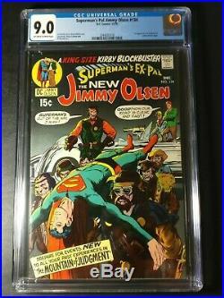 1970 DC Superman's Pal Jimmy Olsen #134 CGC 9.0 1st Darkseid