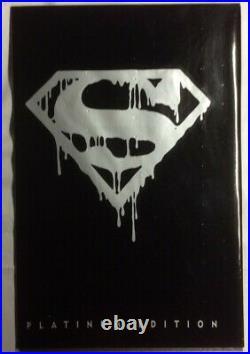 1992 DC COMICS SUPERMAN #75 SEALED Platinum Black Polybag Death Of Superman