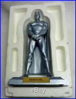 1998 DC Direct Kingdom Come Man of Steel Superman Statue Alex Ross Sculpture