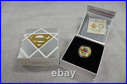 2015 Royal Canadian Mint $100 Gold Coin Superman Comic Book Covers #4 (1940)