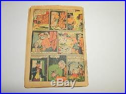 ACTION COMICS #13 June 1939 Classic train cover 4th Superman Cover CGC