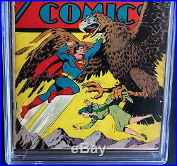 ACTION COMICS #82 (DC 1945) CGC 4.5 OW-W ONLY 48 IN CENSUS! Superman Cover