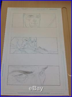 ALL STAR SUPERMAN #12 Pg 3 ORIGINAL ART FRANK QUITELY MORRISON
