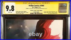 Action Comics #1000 Cgc Ss 9.8 Mattina Virgin Variant Batman Wonder Woman Flash