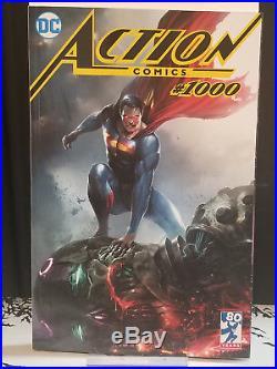 Action Comics #1000 Francesco Mattina Variant Set Trade + Virgin + First Print
