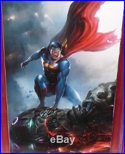 Action Comics #1000 Frankie's Comics Mattina Virgin Variant CGC 9.8 NM Superman