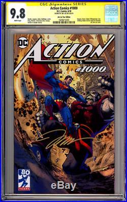 Action Comics 1000 Jim Lee Tour Variant CGC SS 9.8 Signed Jim Lee 1st Rogol Zaar