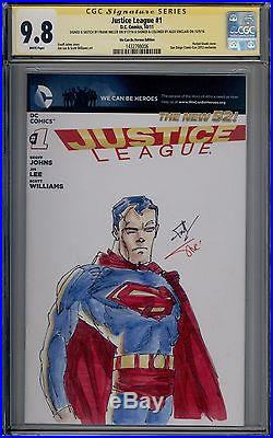 Action Comics 18 CGC SS 9.8 Signed Sketched Frank Miller Alex Sinclair Superman