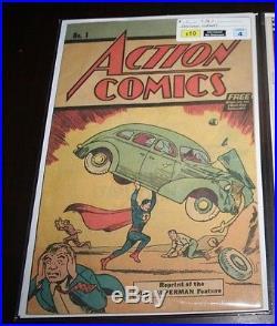 Action Comics 1 242-960 Huge lot 340 521 835 1st Brainiac Vixen Livewire