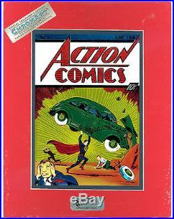 Action Comics #1 Nm- Chromart Limited Ed Chromium Print Sealed Coa 1938-1994