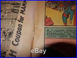 Action Comics #23 1st Lex Luthor 1940, 1st Mention of Daily Planet KEY Book