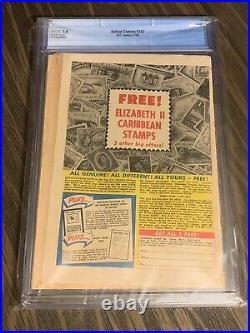 Action Comics #242 CGC 1.0 Cream Pages 1st Braniac! Kandor! DC Superman