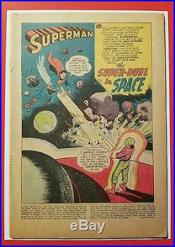 Action Comics 242 CGC 3.0 1958 Superman 1st App Brainiac + Reader Copy-no cover