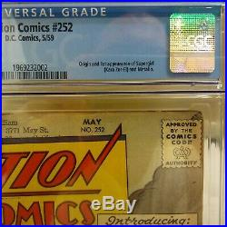 Action Comics #252 1959 CGC 4.5 1st appearance of Super Girl