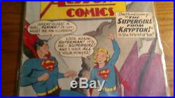 Action Comics 252 1st Supergirl And Metallo 1959 Superman Silver Age Nice Book