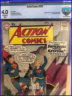 Action Comics #252 CBCS 4.0