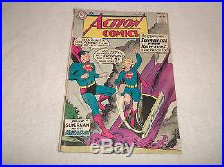 Action Comics #252 Origin & 1st App. Supergirl DC 1959