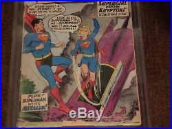 Action Comics 252 Origin 1st App Supergirl Pgx 3.0 Universal Label