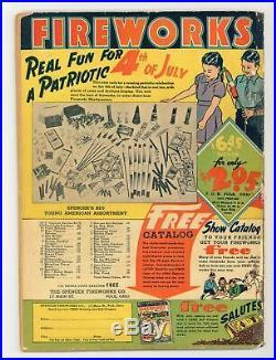 Action Comics #25 GD+ 2.5 RESTORED 1940