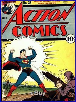 Action Comics #35 Golden Age DC 1.0