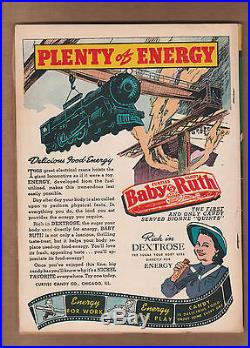 Action Comics #42 1941 1st app. /origin Vigilante/Luthor app. FN+! WOW