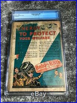 Action Comics #48, (DC Comics 1942) CGC 0.5 Superman WWII Cover, RARE, HTF