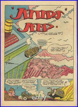 Action Comics #64 DC 1943 Key Golden Age PGX VF 8.0 1st Golden Age Toyman