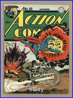 Action Comics #66 VG/FN 5.0 1943
