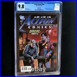 Action Comics #869 (2008) CGC 9.8 Recalled Beer Cover Edition DC Comic