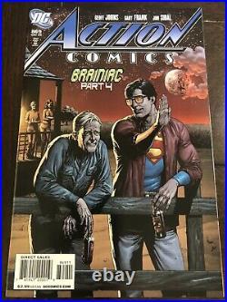 Action Comics #869 Recalled Superman Beer Bottle Variant