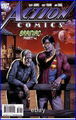 Action Comics #869 Recalled Superman Beer Bottle Variant Comic Book