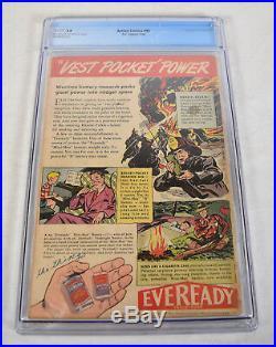 Action Comics 93 DC 1946 CGC 2.0 Superman Christmas Story Tree