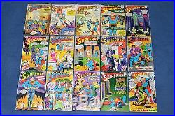 Action Comics/Superman/World's Finest + moreDC Silver Age 142 Book Reader Lot
