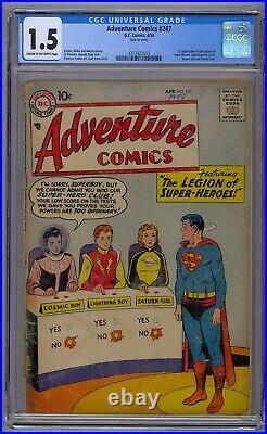 Adventure Comics #247 Cgc 1.5 1st App Legion Of Super-heroes