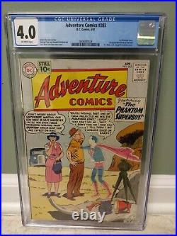 Adventure Comics #283 CGC 4.0 Silver Age DC 1961 Key 1st General Zod