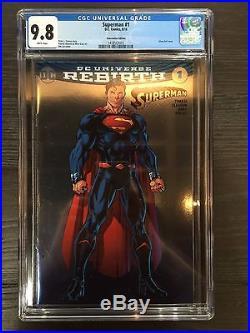 Batman #1 Superman #1 Wonder Woman #1 Sdcc 2016 Jim Lee Foil Variant Cgc 9.8 Set