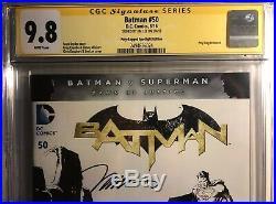 Batman #50 Superman Sketch Variant CGC SS 9.8 (Signed By Jim Lee)