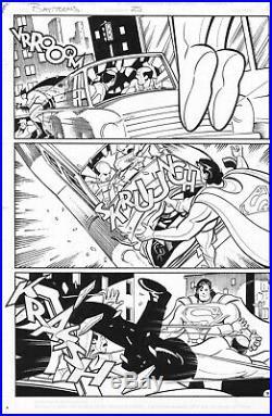 Batman Adventures 25 Page 9 Superman 1994 DC Mike Parobeck Animated