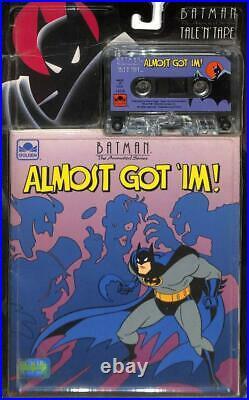 Batman Adventures Almost Got'IM! 1st App of Harley Quinn Sealed with Cassette