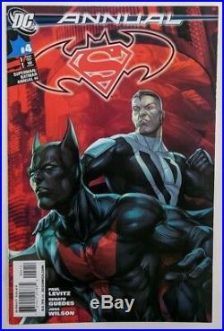 Batman Beyond 1 & Superman Batman Annual 4 2nd Print