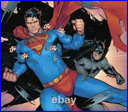 Batman Superman (2019) #3 Pg 14 Page David Marquez Original Artist's Proof Art