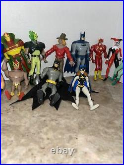 Batman Superman Animated Series Action Figures (Lot of 22)Kenner Atomic Skull