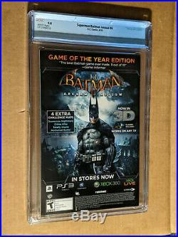 Batman Superman Annual #4 1st print 1st Batman Beyond ArtGerm Key CGC 9.8 NM+M