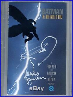 Batman The Dark Knight Returns 1 CGC 9.8 SS 1st print Superman Miller Janson