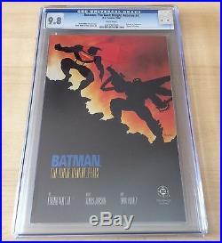 Batman The Dark Knight Returns #4 CGC 9.8 NM+/MT Batman vs. Superman 1986