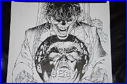 Batman/superman#17 Original Art Page. Great Looking Joker Splash-adrian Syaf-