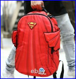 Brand New Sprayground DC Comics Superman Cape Wings School Book Bag Backpack