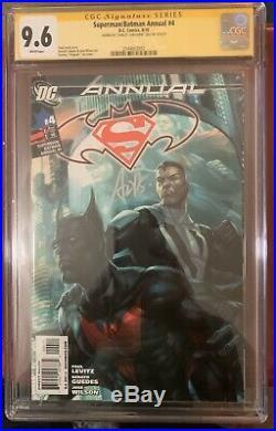 CGC 9.6 SS SUPERMAN/BATMAN ANNUAL # 4 1st BATMAN BEYOND, ARTGERM SCARCE 9.8