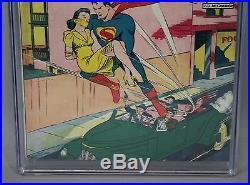 CGC Graded 5.0 1940 #29 ACTION COMICS Superman DC Comic Book 1st Lois Lane Cover